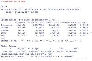 ridge 300x198 - khắc phục đa cộng tuyến bằng Ridge