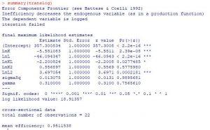 translog 300x186 - Hiệu quả kỹ thuật bởi Phân tích biên ngẫu nhiên SFA