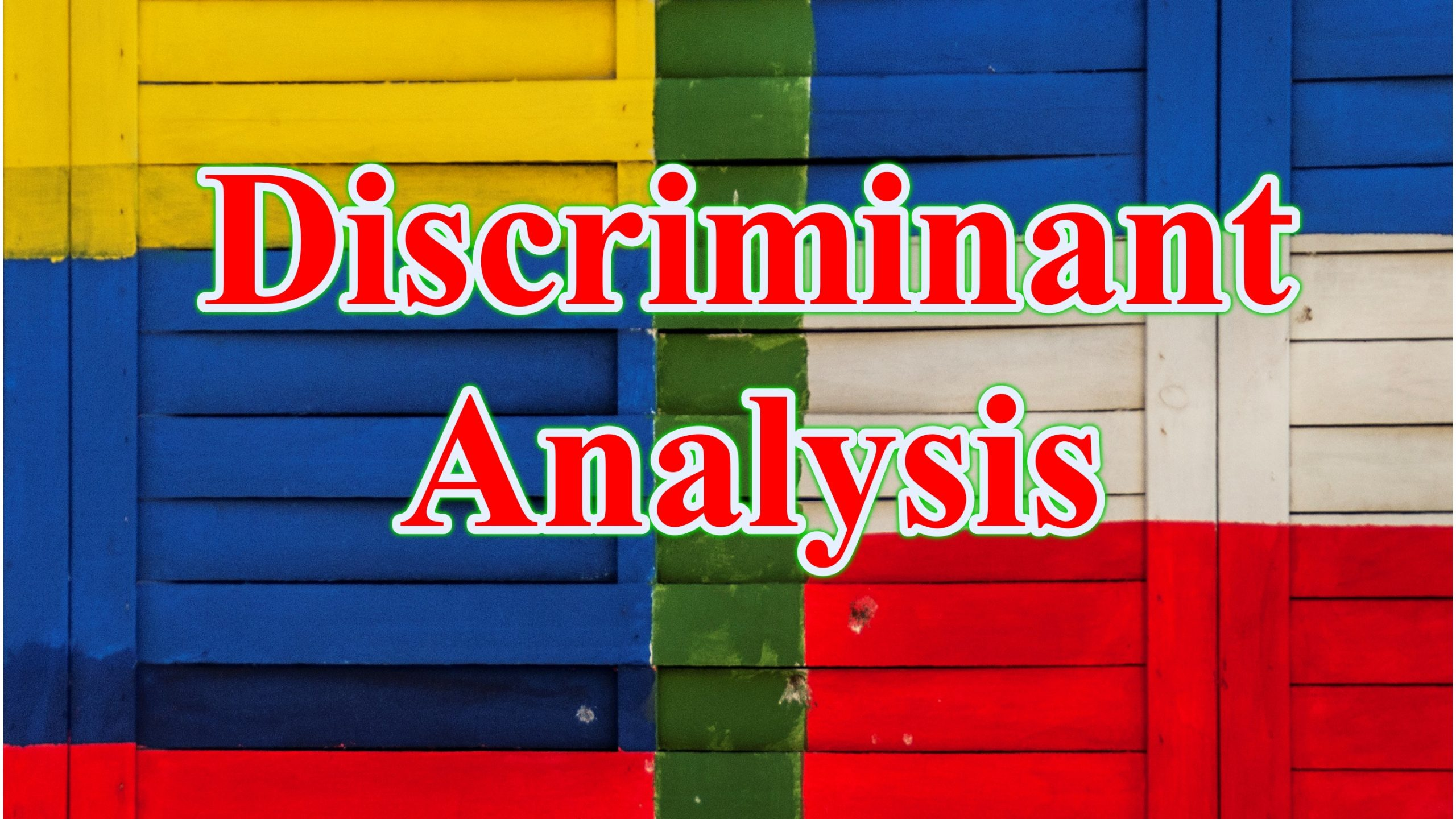 discriminant function analysis scaled - Phân tích phân biệt Discriminant Analysis DA