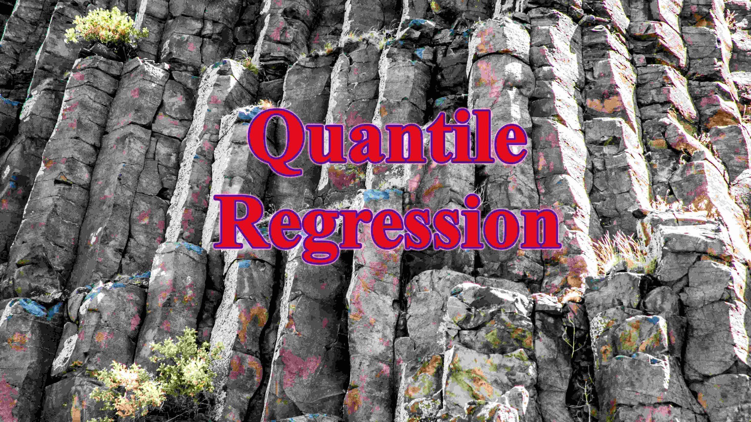 quantile regression scaled - Hồi quy quantile regression phân vị